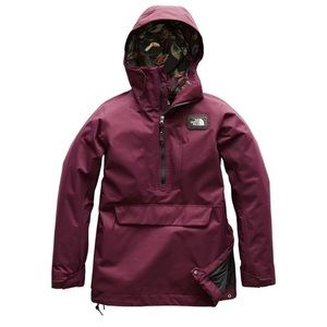 3f888943c North Face Tanager Anorak hooded jacket FIG NWT